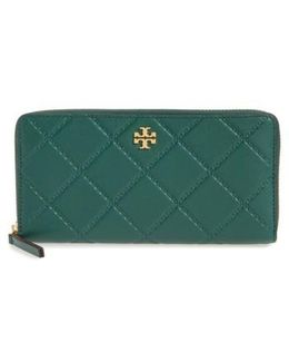 Monroe Leather Continental Wallet