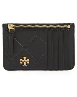Georgia Leather Card Case