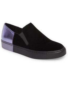 Varsity Slip-on Sneaker