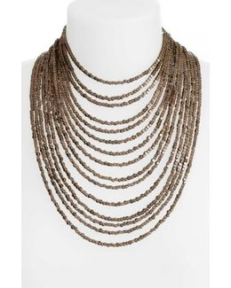 Joan Beaded Multistrand Necklace