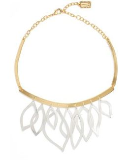 Two-tone Frontal Necklace