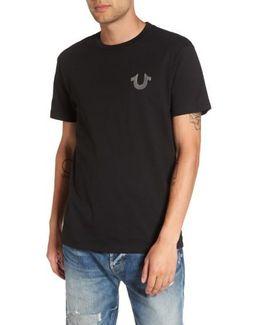 True Religion Silver Buddha T-shirt