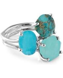 Rock Candy Semiprecious Stone Ring