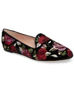 Swinton Embroidered Loafer
