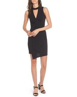 Asymmetrical Body-con Dress