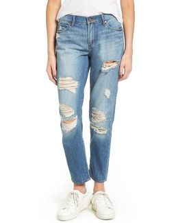 Carrie Ripped Crop Jeans