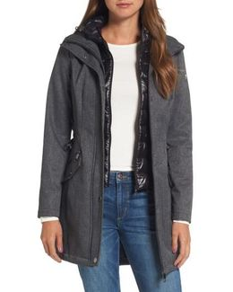 Anorak With Detachable Hooded Vest