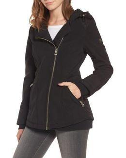 Asymmetrical Soft Shell Coat