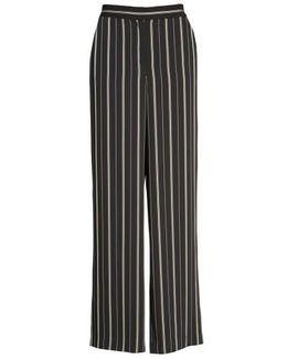 Stripe Slim Leg Pants
