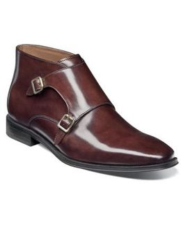 Belfast Double Monk Strap Boot