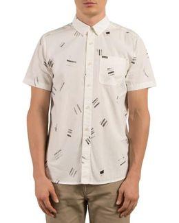 Micro Warp Print Shirt