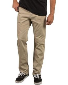 Solver Slub Five-pocket Pants