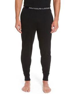 Cotton Jogger Lounge Pants