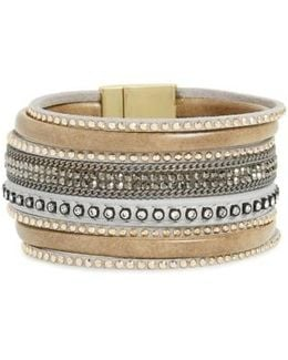 Faux Leather Bracelet