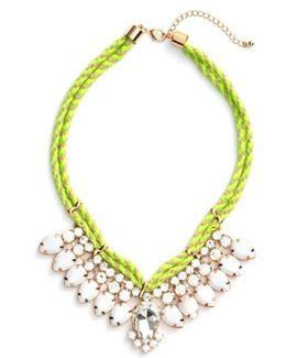 Teardrop Rope Necklace