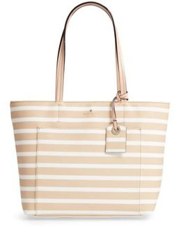 Hyde Lane - Small Riley Faux Leather Tote