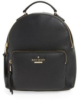 Jackson Street - Keleigh Leather Backpack