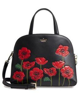 Ooh La La Poppy - Lottie Leather Satchel