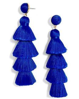 Antonella Tassel Fringe Earrings
