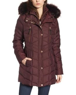 Marley 30 Coat With Detachable Faux Fur