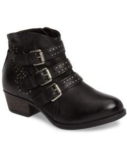 Barclay Studded Moto Bootie
