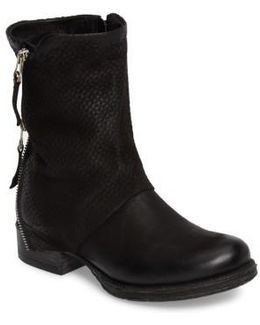 Nugget Asymmetrical Textured Boot