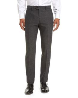Porttro Modern Slim Fit Trousers