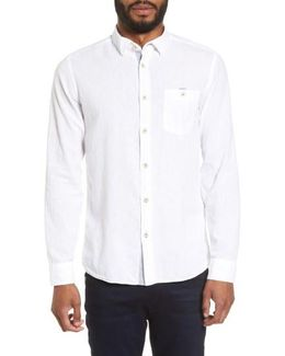 Carwash Modern Slim Fit Sport Shirt