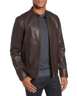 Mate Leather Biker Jacket