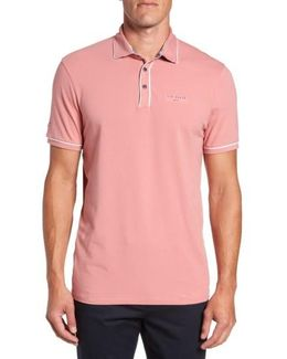 Offset Modern Slim Fit Polo