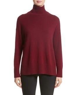 Cashmere Oversize Turtleneck Sweater