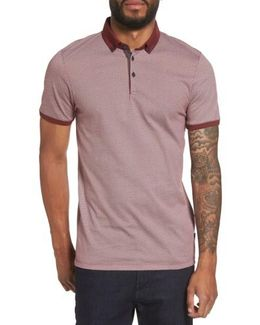 Exeta Button Collar Polo