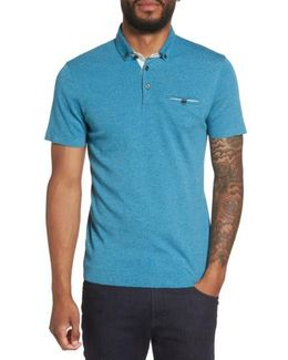 Frankiy Button Collar Polo