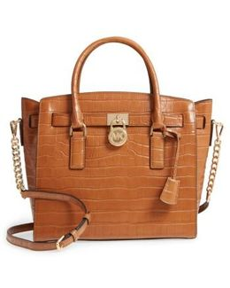 Large Hamilton Leather Satchel