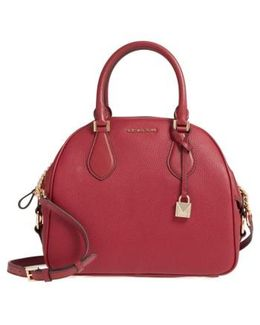 Large Briar Leather Satchel