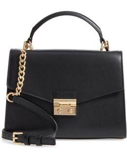 Medium Sloan Leather Satchel