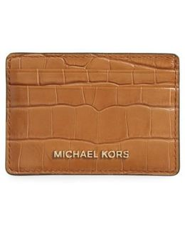 Money Pieces Leather Card Case