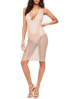 Fishnet Sleeveless Dress