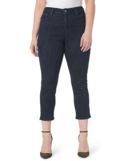Marilyn Stretch Straight Leg Crop Jeans
