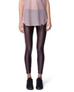 Emblem Crop Leggings