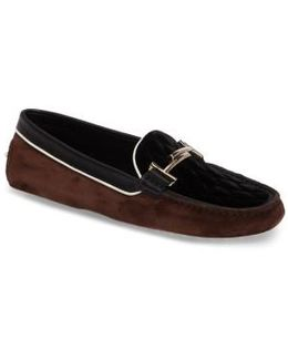 Double T Quilted Gommino Loafer