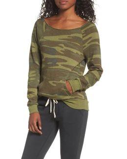 Maniac Camo Fleece Sweatshirt