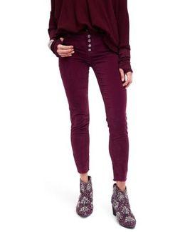 Reagan Crop Skinny Jeans