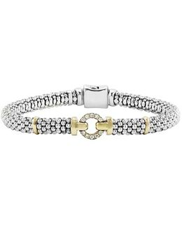 Enso Diamond Bracelet