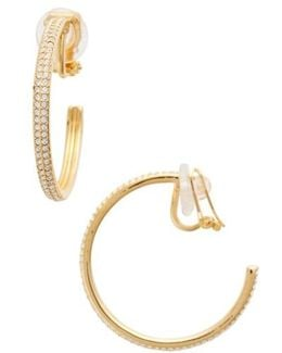 Clip-on Hoop Earrings