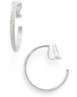 Clip-on Hoop Earrings