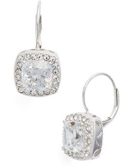 Cubic Zirconia Drop Earrings