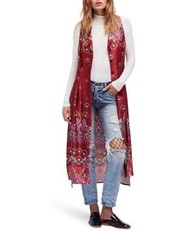 Come See About Me Maxi Vest