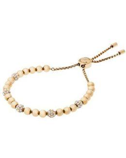 Beaded Slider Bracelet