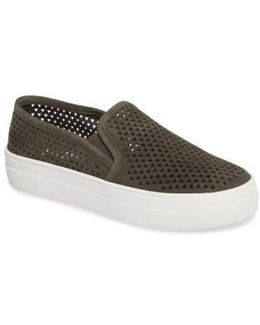 Gills Perforated Slip-on Sneaker